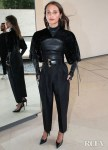 Alicia Vikander's Rare Louis Vuitton Runway Outing For The LVMH Prize 2019 Edition