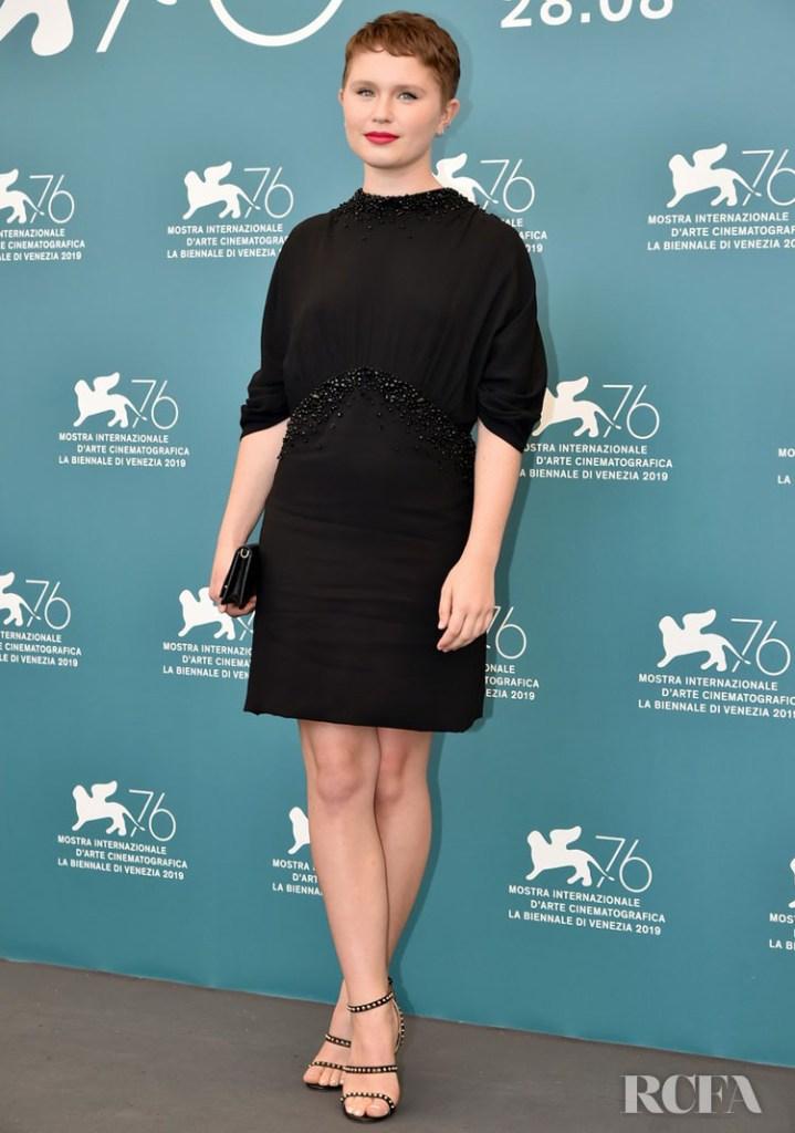 Eliza Scanlen In Prada - 'Babyteeth' Venice Film Festival Photocall