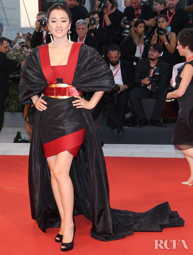 Gong Li In Elie Saab - 'Lan Xin Da Ju Yuan' Venice Film Festival Premiere