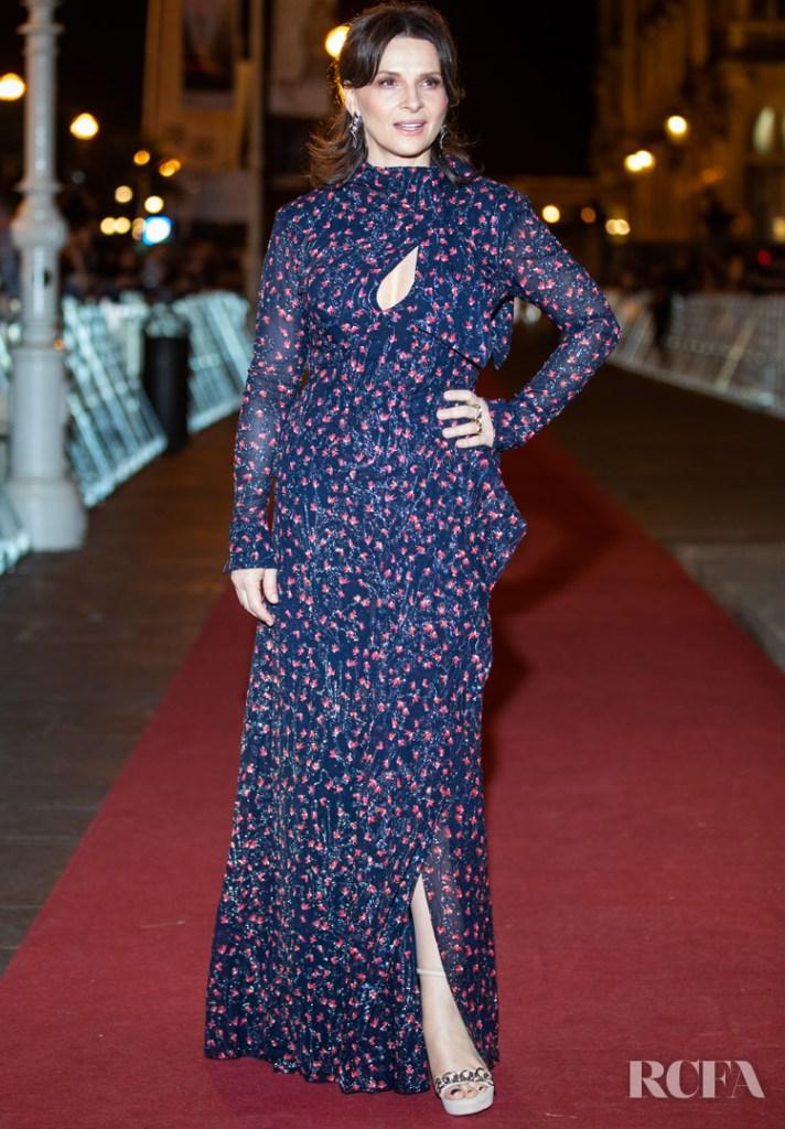 Juliette Binoche In Chloe - 'La Verite (The Truth)' San Sebastian Film Festival Premiere
