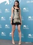 Laysla De Oliveira In Etro & Reem Acra - 'Guest of Honour' Venice Film Festival Photocall & Premiere