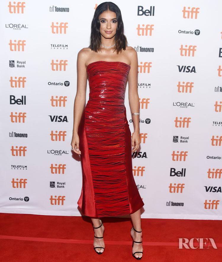 Laysla de Oliveira In Armani Prive - 'Guest Of Honour' Toronto Film Festival Premiere