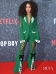 Leigh-Anne Pinnock's Head-Turning Ana Ljubinkovic Suit For The 'Top Boy' London Premiere