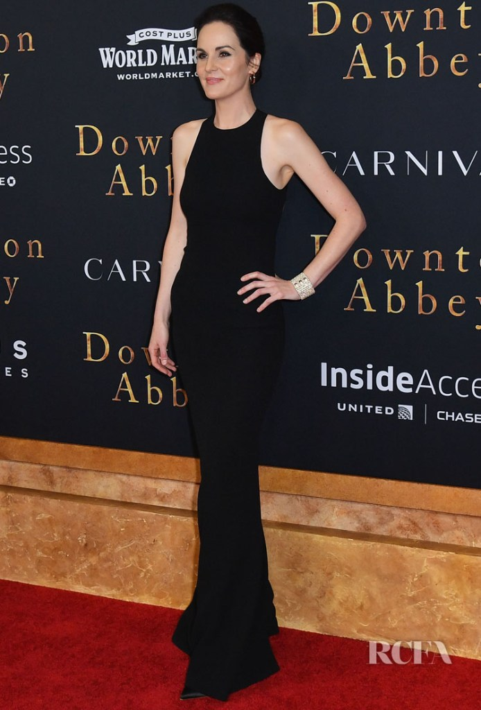 Michelle Dockery Looked Statuesque For The 'Downton Abbey' New York Premiere