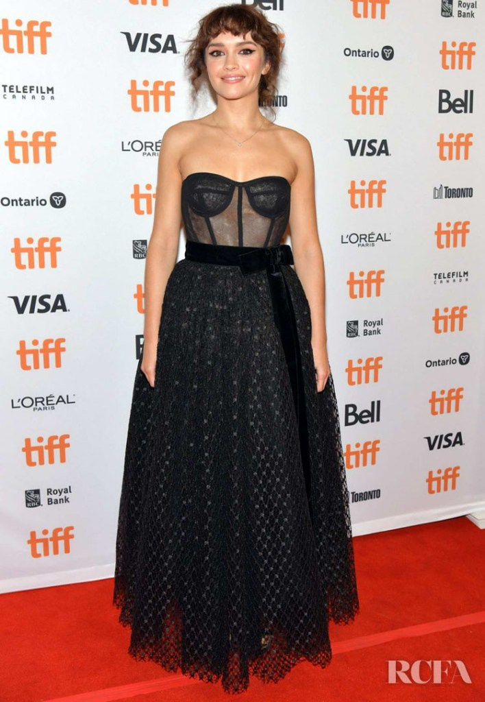 Olivia Cooke In Dolce & Gabbana - 'Sound Of Metal' Toronto Film Festival Premiere
