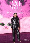 Priyanka Chopra Suits Up For The Vogue Japan x Bvlgari Event