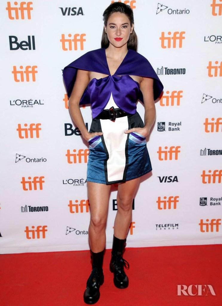 Shailene Woodley In Louis Vuitton - 'Endings, Beginnings' Toronto Film Festival Premiere