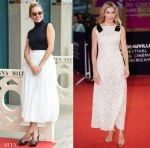 Sienna Miller In Chloe, The Row & Chanel - 'American Woman' Deauville American Film Festival Photocall & Premiere
