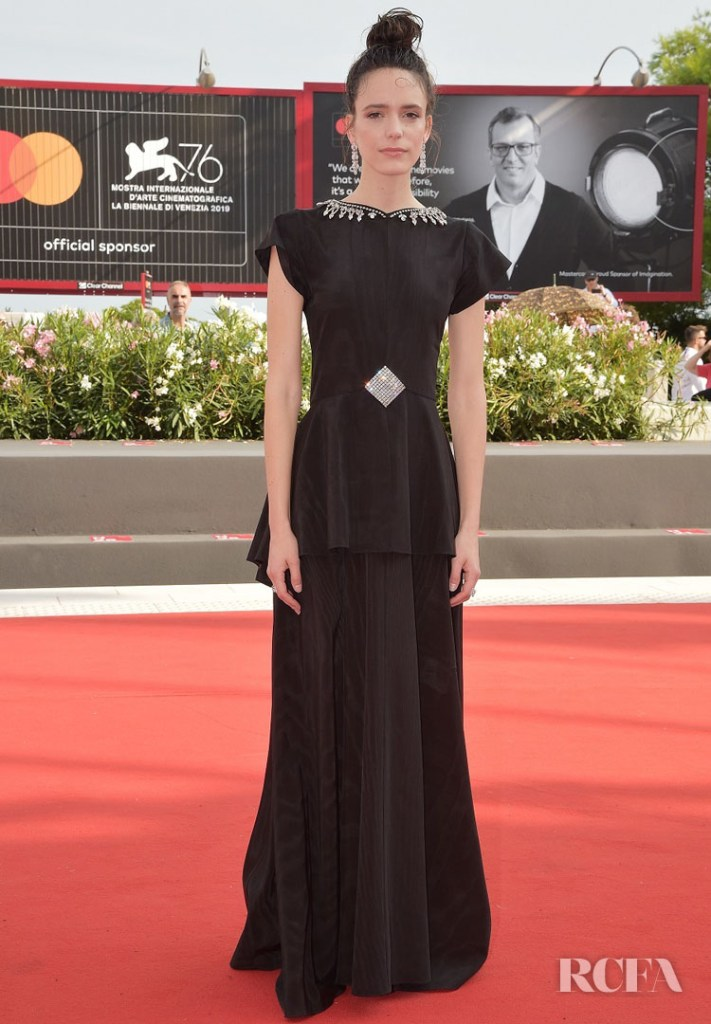 Stacy Martin In Gucci - 'Ji Yuan Tai Qi Hao (No.7 Cherry Lane)' Venice Film Festival Premiere