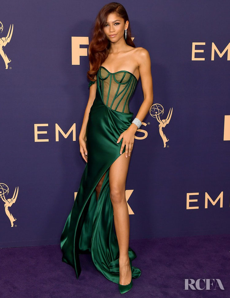 Zendaya Coleman In Vera Wang – 2019 Emmy Awards