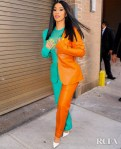 Cardi B Talks Fashion In Sally LaPointe At The Vogue Forces Of Fashion Event