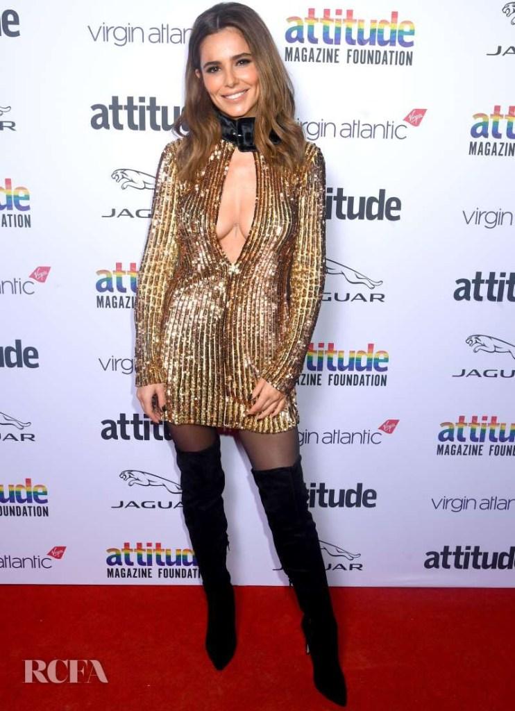 Cheryl Cole In Attico - 2019 Virgin Atlantic Attitude Awards
