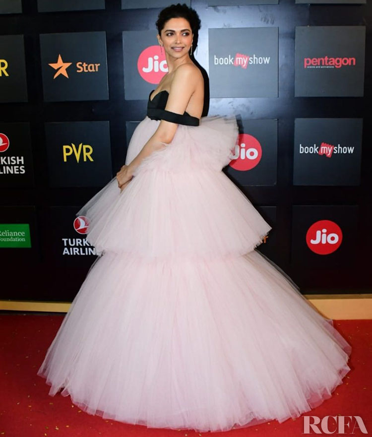Deepika Padukone Has Another Big Tulle Giambattista Valli Haute Couture Moment For The  Jio MAMI Mumbai Film Festival