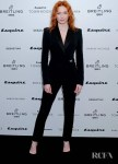 Eleanor Tomlinson Rocks A Sleek Jumpsuit For The Esquire Townhouse Launch