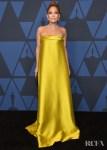 Jennifer Lopez In Reem Acra - 2019 Governors Awards