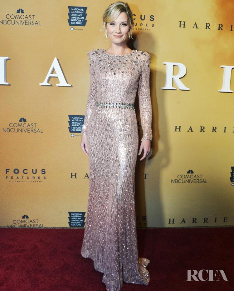 Jennifer Nettles Sparkles In Jenny Packham For The 'Harriet' Washington DC Premiere