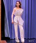 Kate Beckinsale Serves Up Some Architectural Brilliance On The Tonight Show Starring Jimmy Fallon