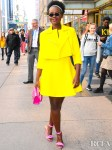 Lupita Nyong'o's Style Was On Point For Her Early Morning Promo Tour For 'Sulwe'