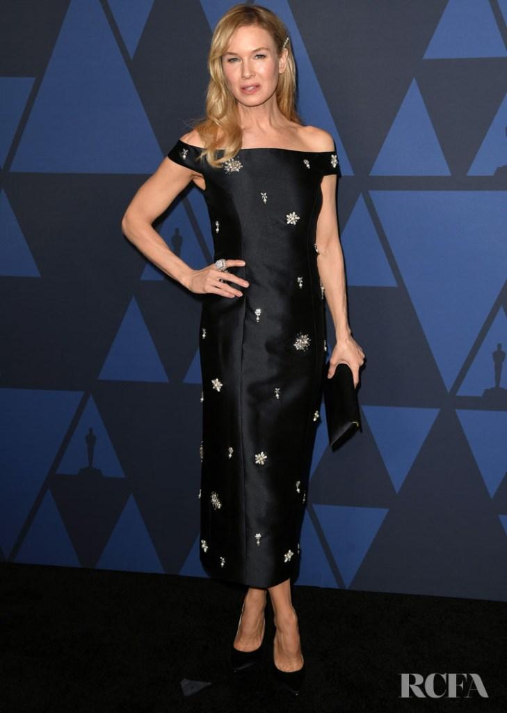Renée Zellweger In Erdem - 2019 Governors Awards