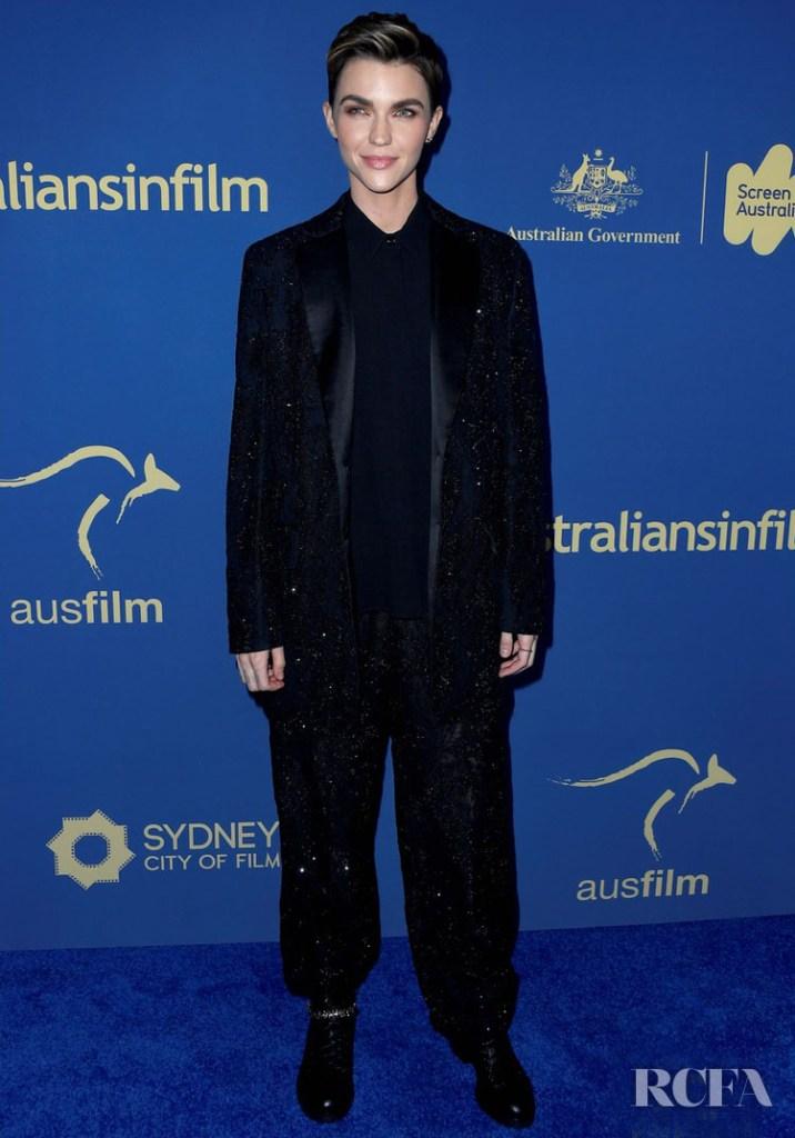 Ruby Rose In Balmain - 2019 Australians In Film Awards
