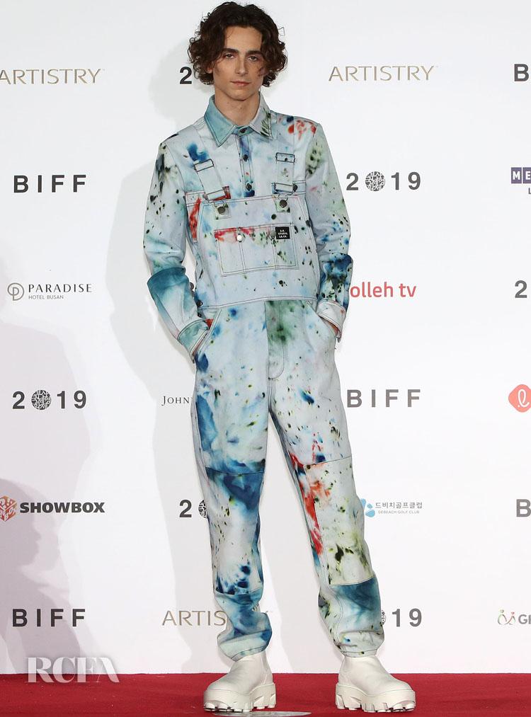 S.R. Studio. LA. CA. Timothee Chalamet 2019 Busan International Film Festival