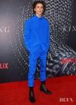 Timothée Chalamet's Monochromatic Blue Moment For 'The King'  Sydney Premiere