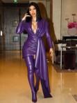 Cardi B's Purple Reign For Paris Fashion Week