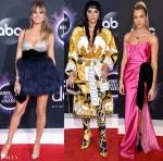 2019 American Music Awards Red Carpet Roundup