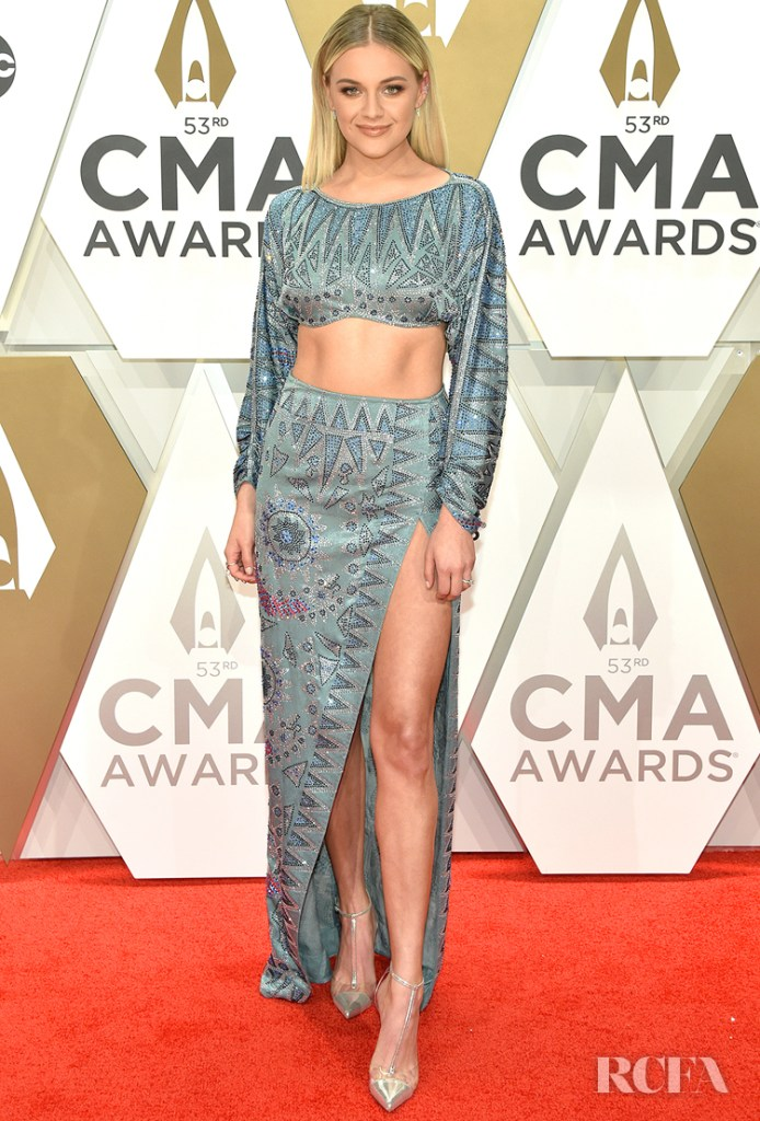 Kelsea Ballerini in Raisa Vanessa. - 2019 CMA Awards