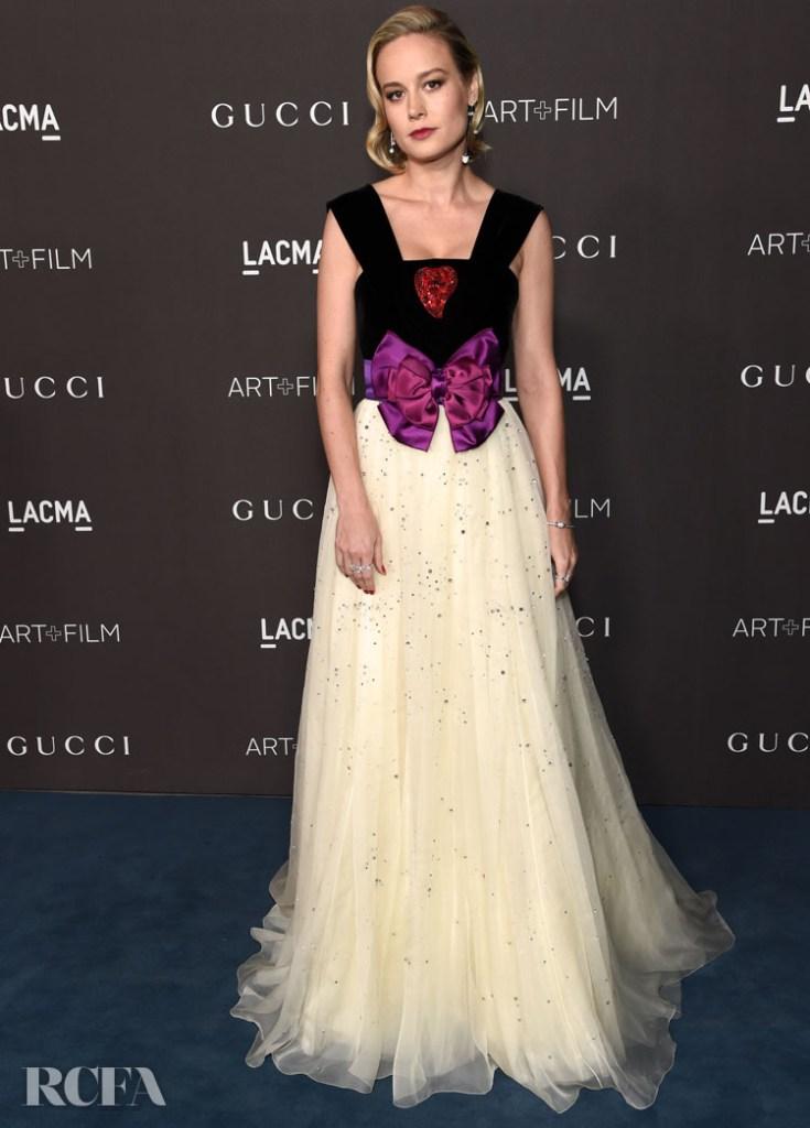 Brie Larson's Fairytale Gucci Moment At The 2019 LACMA Art + Film Gala