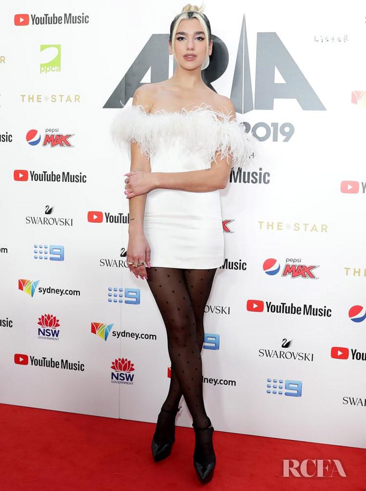 Dua Lipa's LWD For The 2019 ARIA Awards