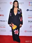 Eva Longoria's Winter Florals For The Global Gift Foundation USA
