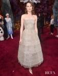 Evan Rachel Wood Switches Gears In Oscar de la Renta For The 'Frozen 2' LA Premiere