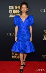 Gugu Mbatha-Raw Dazzles In Rodarte For The HFPA And THR Golden Globe Ambassador Party