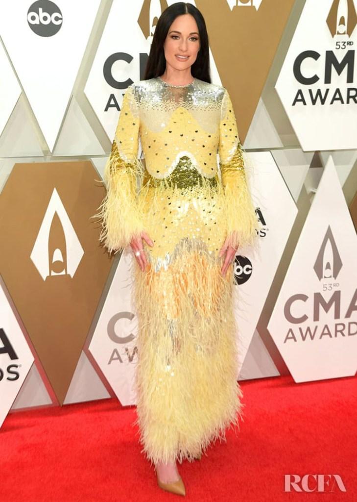 Kacey Musgraves In Valentino - 2019 CMA Awards