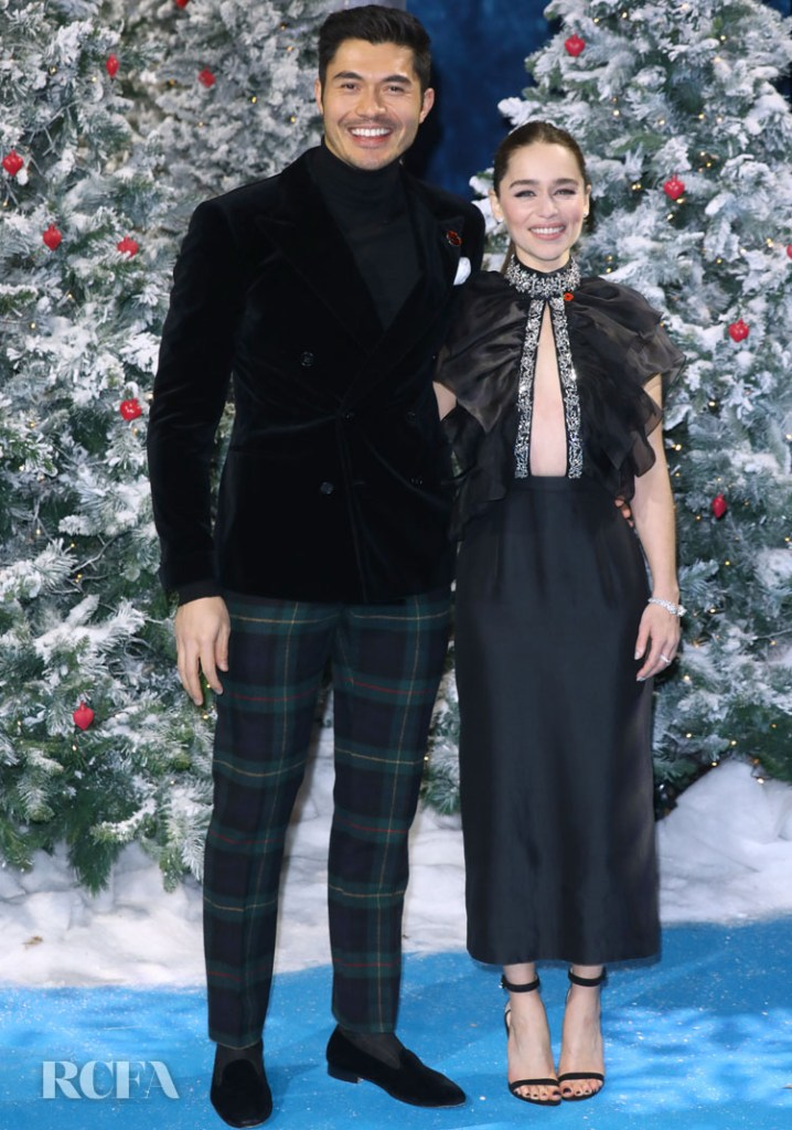 'Last Christmas' London Premiere With Henry Golding & Emilia Clarke