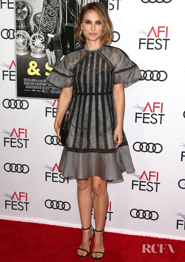 Natalie Portman In Christian Dior' Queen & Slim LA Premiere