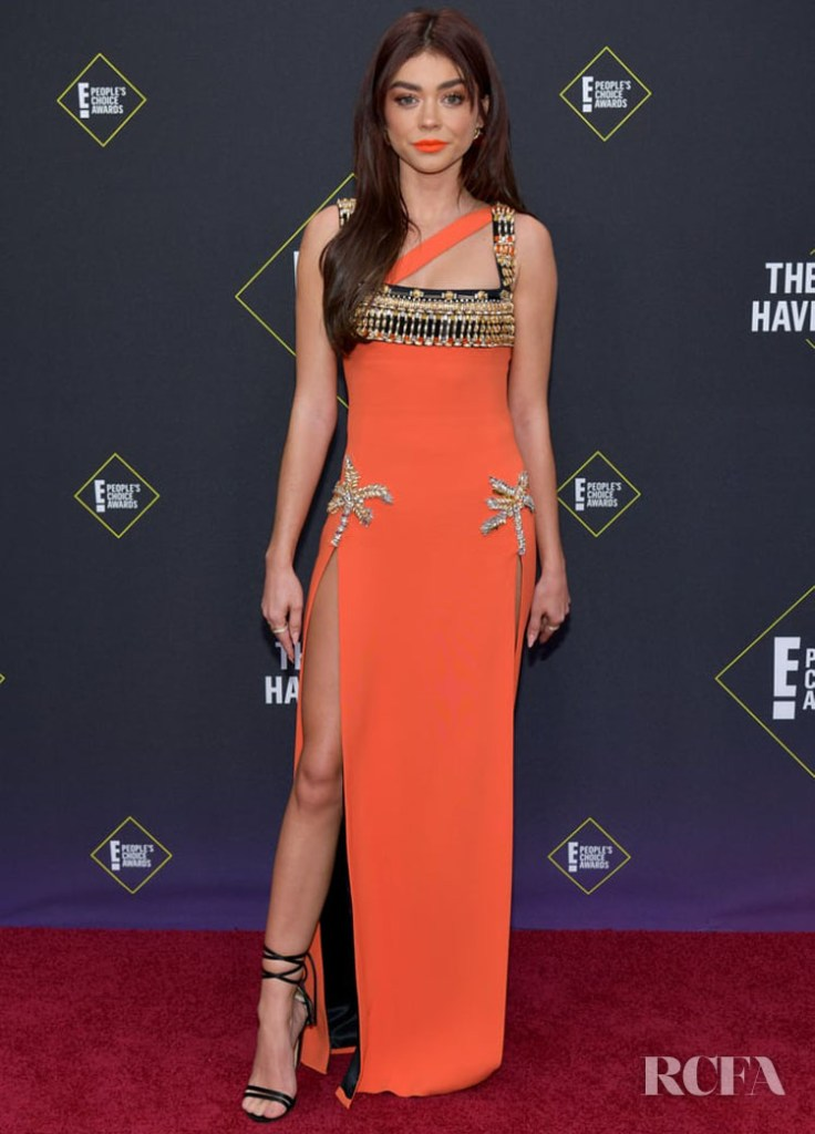 Sarah Hyland In Fausto Puglisi - 2019 People's Choice Awards