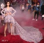 Sofia Carson's High-Low Giambattista Valli Gown For The 'Frozen 2' LA Premiere