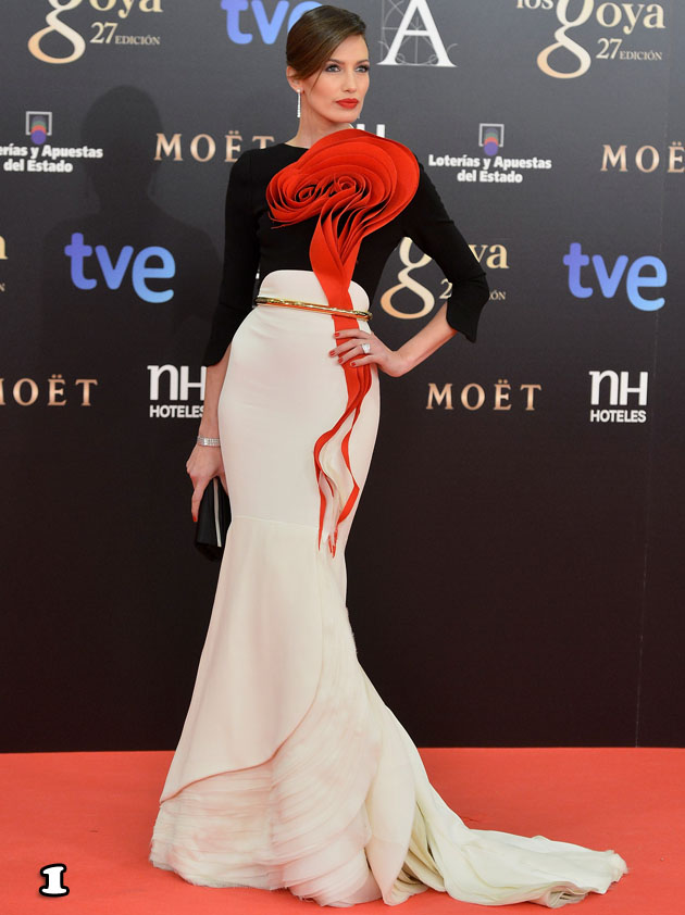 Nieves Alvarez In Stéphane Rolland Couture – 2013 Goya Cinema Awards