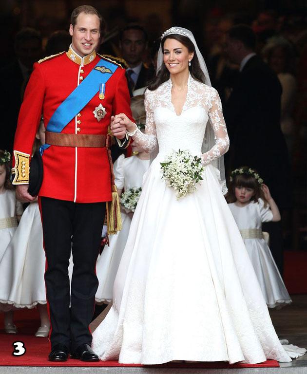 Catherine, Duchess of Cambridge In Sarah Burton For Alexander McQueen – 2011 Royal Wedding