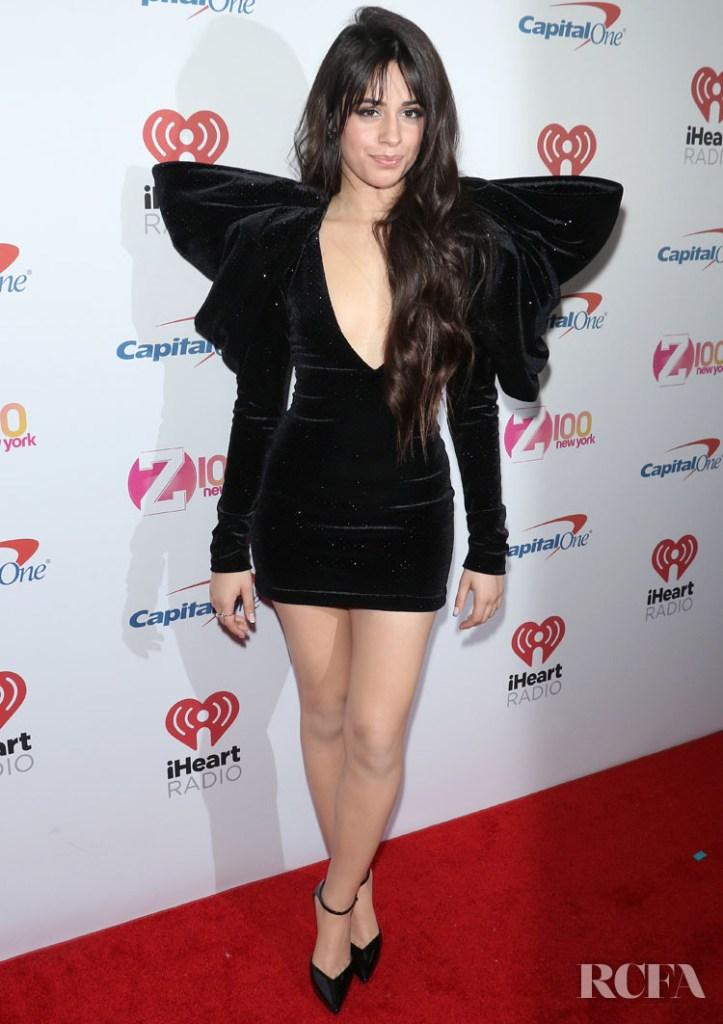 Camila Cabello Wore Redemption To iHeartRadio's Z100 Jingle Ball 2019