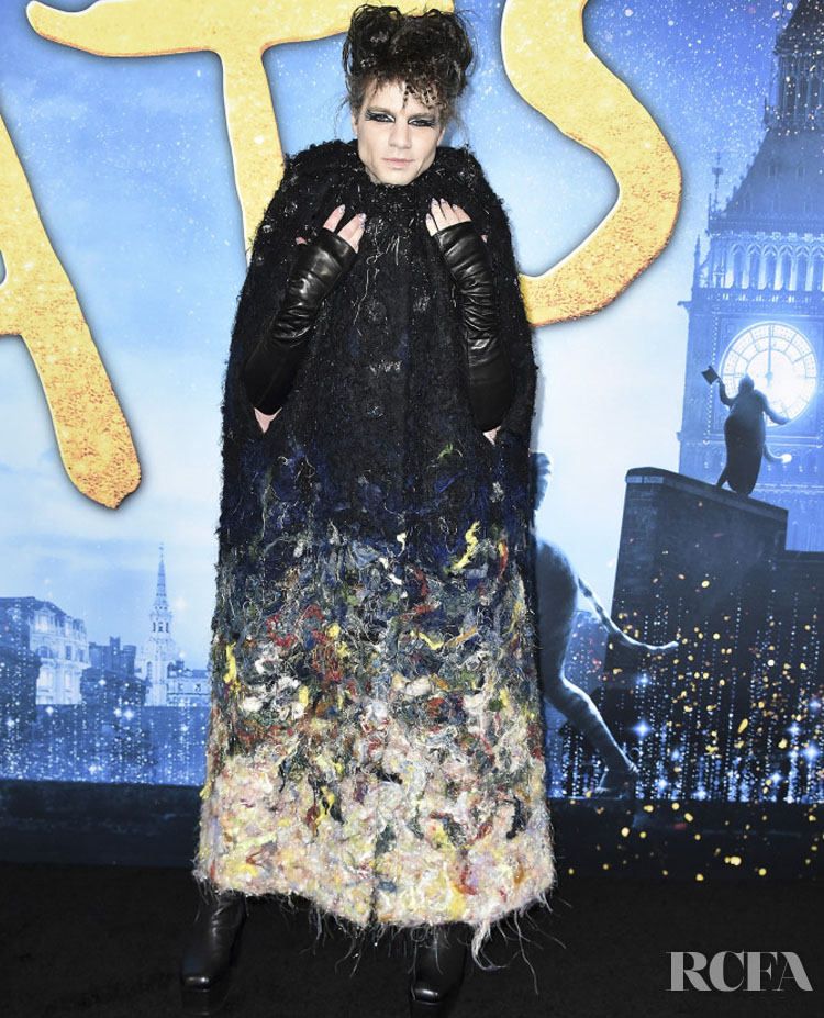 Jordan Roth Wore Viktor&Rolf Couture To The 'Cats' World Premiere