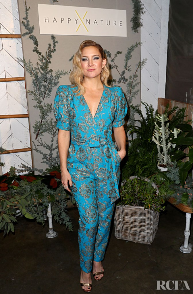Kate Hudson Celebrates Happy x Nature Eco-Evening Collection