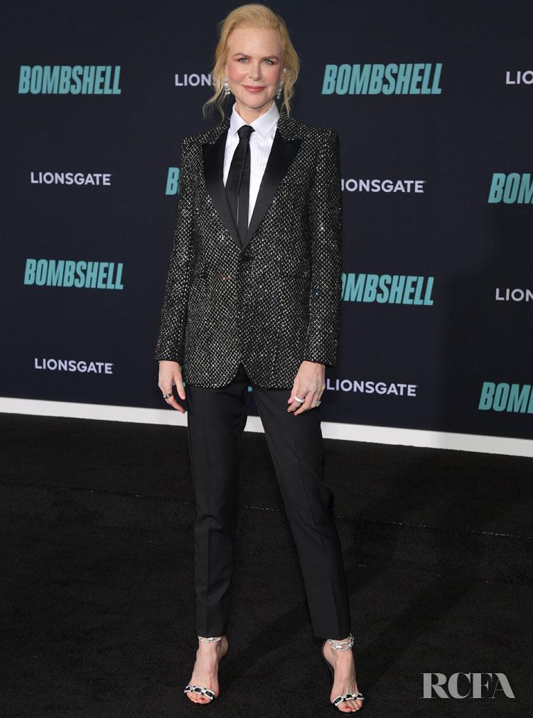 Nicole Kidman Wore Saint Laurent To The 'Bombshell' LA Premiere