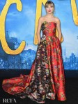 Taylor Swift Wore Oscar de la Renta To The 'Cats' World Premiere