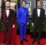 2020 Golden Globe Awards Menswear Red Carpet Roundup