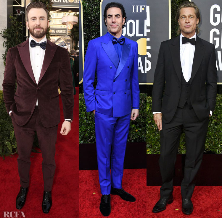 2020 Golden Globes Menswear