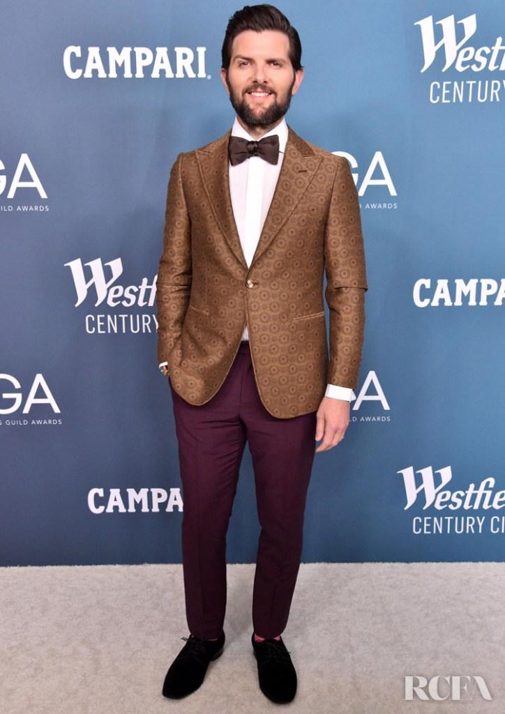 Adam Scott 2020 Costume Designers Guild Awards