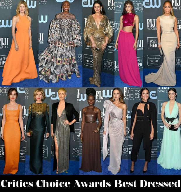 2020 Critics' Choice Awards Best Dressed